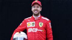 Sebastian Vettel al via della stagione 2019