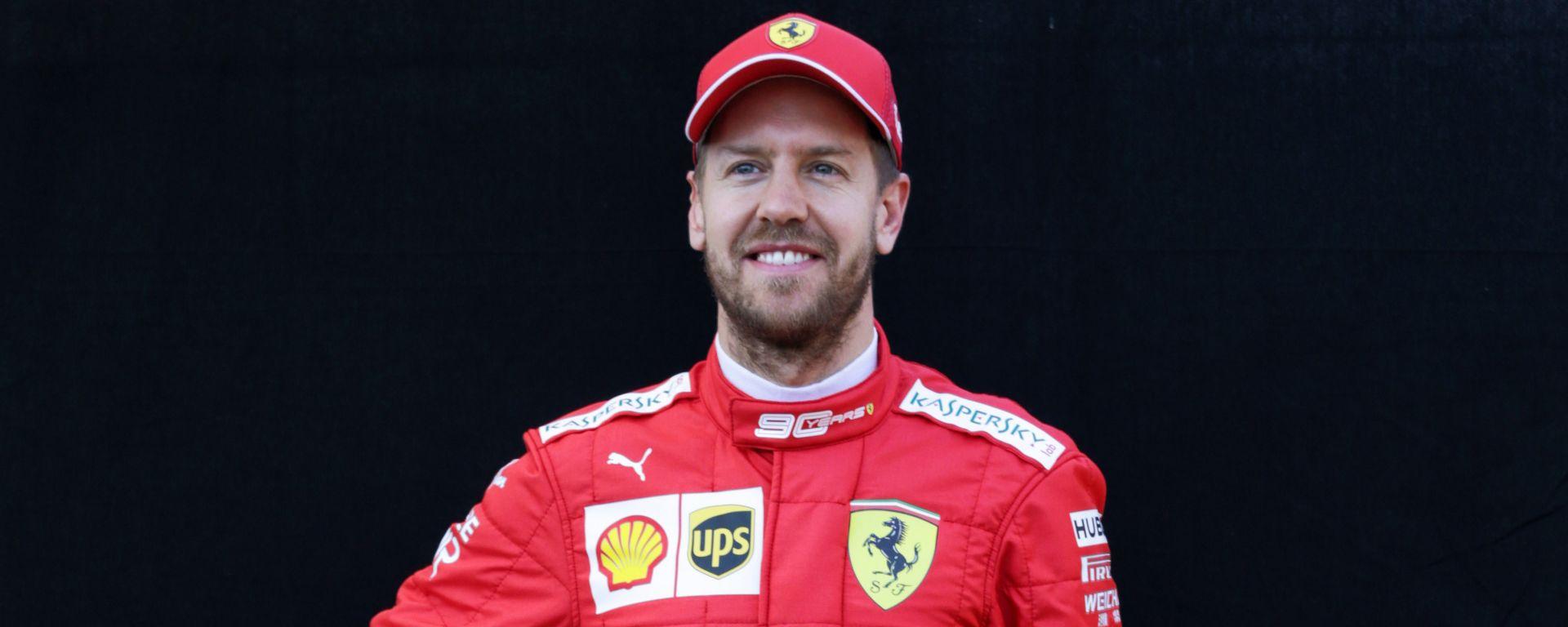 Sebastian Vettel #5 F1 2019