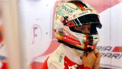 Sebastian Vettel box - Circuit Baku