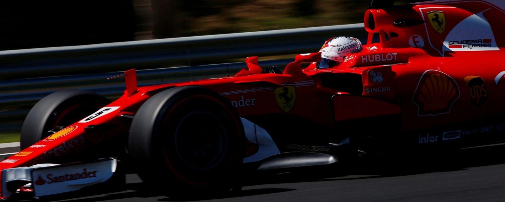 Sebastian Vettel conquisa la pole nel GP d'Ungheria