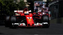 Sebastian Vettel e la Ferrari SF70H