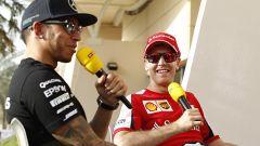 Sebastian Vettel e Lewis Hamilton, scambio probabile?