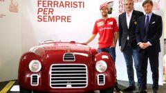Ferrari: Sebastian Vettel alla mostra Ferraristi per Sempre - Immagine: 1