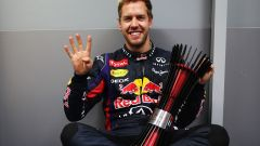 Sebastian Vettel - e sono quattro!