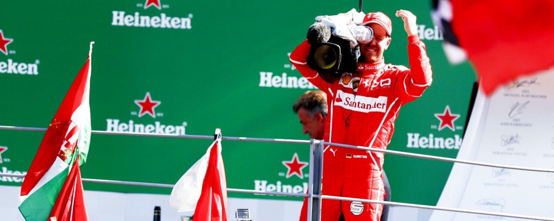 Sebastian Vettel GP di Monza 2017