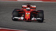Sebastian Vettel in azione