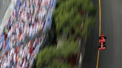 Sebastian Vettel in pista a Monte Carlo