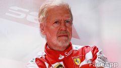 Sebastian Vettel invecchiato con FaceApp
