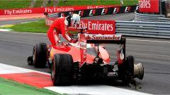 Sebastian Vettel - lo scoppio di una gomma al Red Bull Ring (2016)