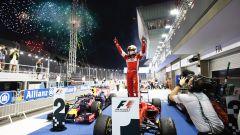 Sebastian Vettel - l'ultima vittoria con la Ferrari nel GP di Singapore 2015