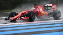 Sebastian Vettel - mescole Pirelli full wet