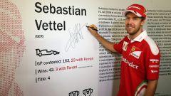 Sebastian Vettel - Museo Ferrari