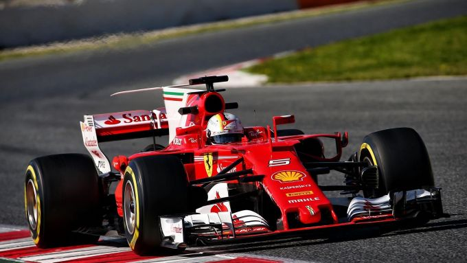 Sebastian Vettel SF70H (2017)