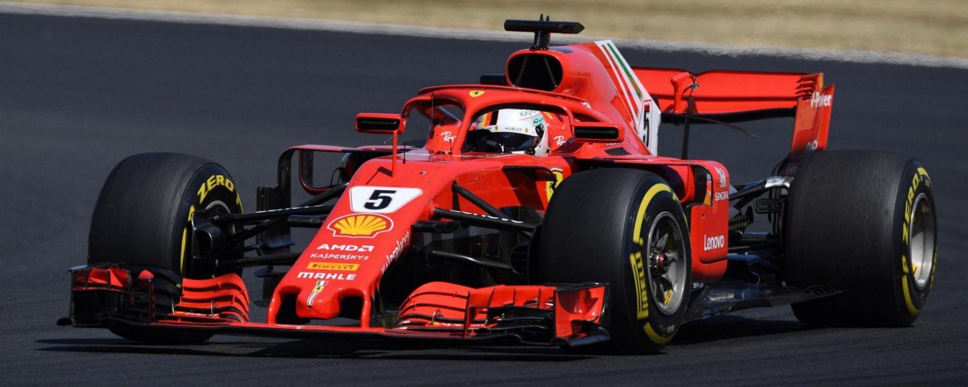 Sebastian Vettel vince il Gran Premio della Gran Bretagna 2018