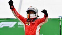 Sebastian Vettel vince in Canada