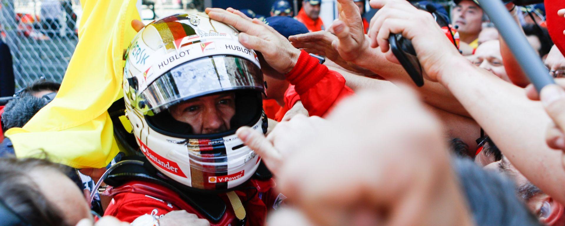 Sebastian Vettel winner - F1 2017 GP Monaco