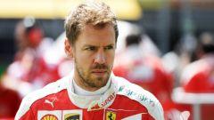 "F1 2017, GP Inghilterra, Sebastian Vettel: ""Gara difficile, quanti problemi!"""