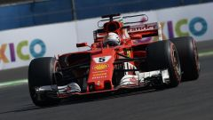 F1 2017 | GP Messico, qualifiche: Sebastian Vettel firma la sua 50° pole position davanti a Verstappen