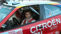 Sebastien Loeb al rally di Montecarlo 2003