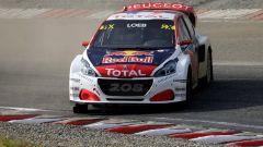 Peugeot 208 WRX e Team Hansen si preparano per il rallycross a Holjes