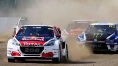 Sebastien Loeb in testa alle vetture Rallycross nel Gran Premio tedesco - Peugeot 208 WRX