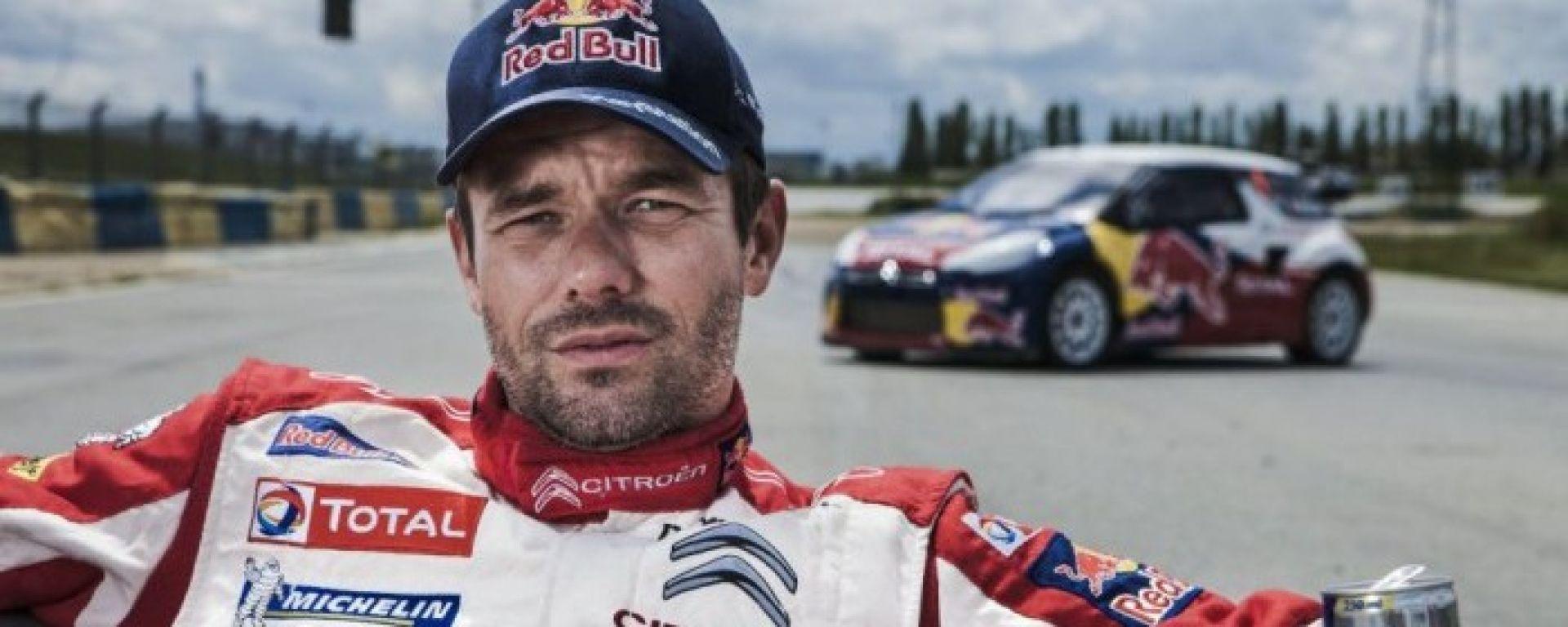Sebastien Loeb torna a guidare una vettura da rally con la Citroen C3 WRC17