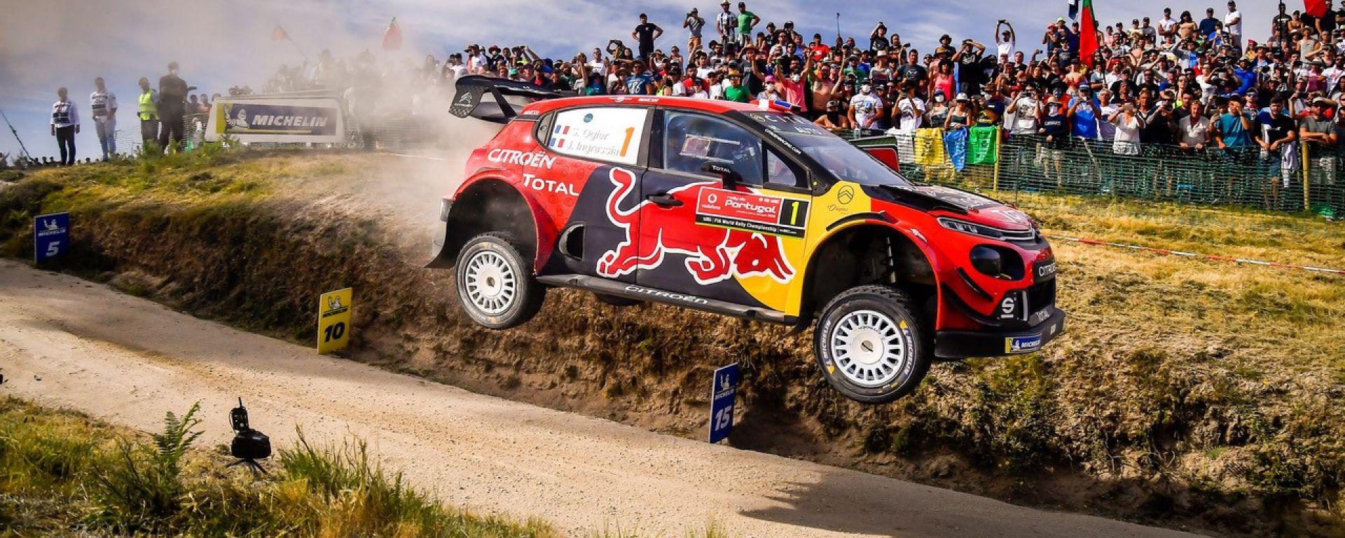Sébastien Ogier - Citroen C3 Wrc Plus - Rally del Portogallo