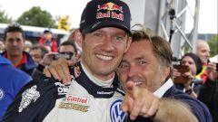 Sebastien Ogier e Jost Capito - Volkswagen Motorsport