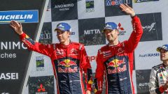 Sebastien Ogier e Julien Ingrassia - Citroen Racing podio Rally del Cile Wrc