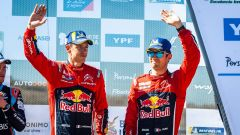 Sebastien Ogier e Julien Ingrassia - Citroen Racing podio Rally di Argentina