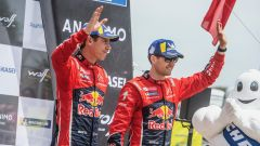 Sébastien Ogier e Julien Ingrassia - Citroen World Rally Team - podio Rally del Portogallo 2019