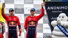 Sebastien Ogier e Julien Ingrassia - podio Rally del Galles 2019