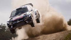 Sebastien Ogier e la sua Polo R WRC - Rally Australia 2016