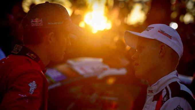Sébastien Ogier e Ott Taank - Wrc Rally di Spagna 2019