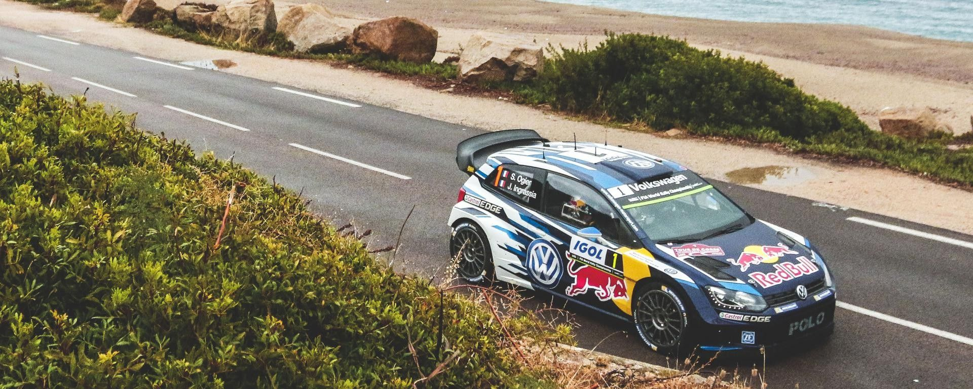 Sebastien Ogier, il vincitore del Rally di Germania nel 2016