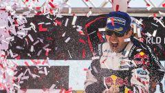 Sebastien Ogier sul podio del Rally del Portogallo - WRC 2017
