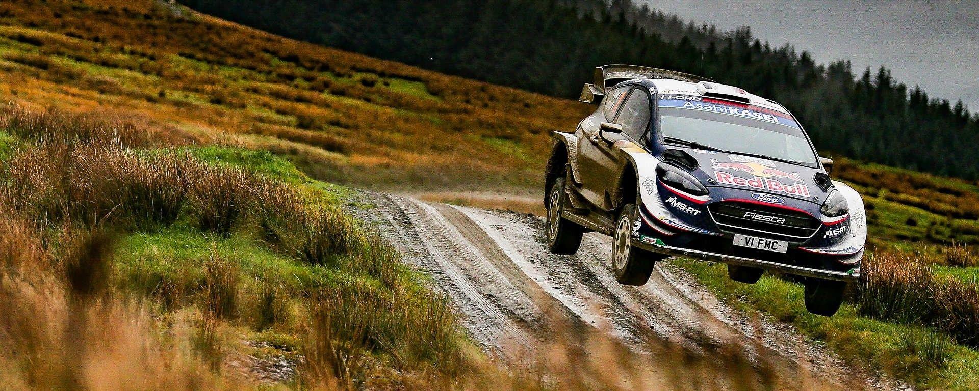 Sebastien Ogier sulla sua Ford M Sport