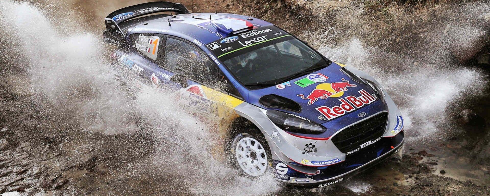 Sebastien Ogier vince la PS 12 con la Ford del Team M-Sport - WRC 2017, Rally Messico