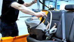 Seggiolini in auto: i test per la sicurezza