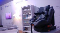 Chicco e Samsung: ecco il seggiolino per non dimenticare i bimbi in auto - Immagine: 3
