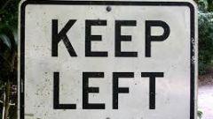 Segnaletica stradale: gli inglesi tengono la sinistra