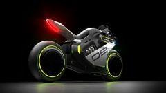 Segway Apex H2: la moto elettrica e a idrogeno. Motore e uscita