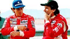 Senna e Fittipaldi