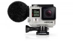 Sennheiser MKE2 il microfono antivento per la GoPro Hero 4 - Immagine: 1