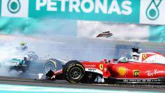 Sepang International Circuit - il contatto tra Sebastian Vettel e Nico Rosberg (2016)