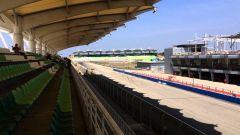 Sepang International Circuit - rettilineo principale