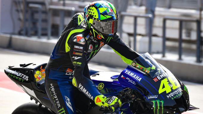 Sepang MotoGP Test 2020, Valentino Rossi (Yamaha)