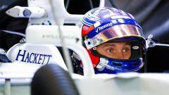 Sergey Sirotkin al volante della FW40