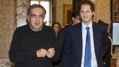Sergio Marchionne e John Elkann, più che semplici colleghi