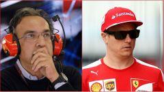F1 Ferrari: Marchionne dubbioso sulla permanenza di Raikkonen